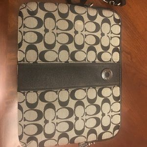 Coach IPad Bag with Strap